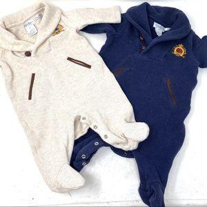 Ralph Lauren 2pc baby bodysuits 3M B5